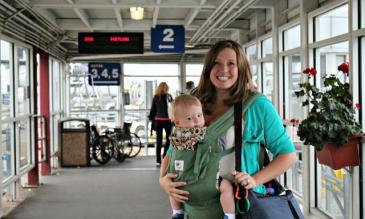 traveling with a baby in europe