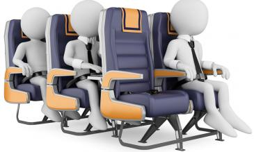 airplane seat pitch