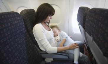 fly with your baby