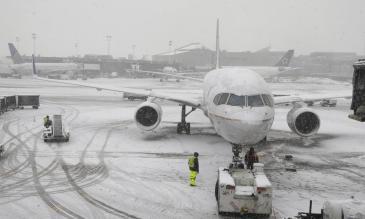 bad weather flights