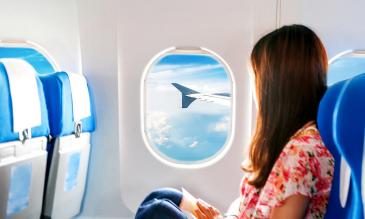 Stay healthy while flying