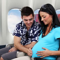 tips to consider when flying pregnant