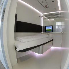 Munich airport sleeping pods