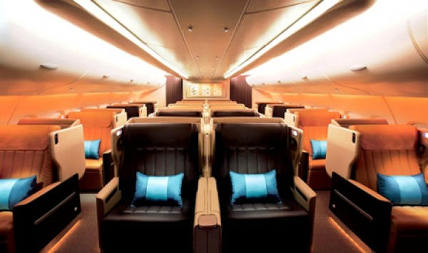 Seat Map Singapore Airlines Airbus A380 800 four class V1   SeatMaestro