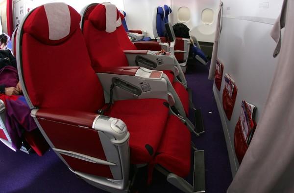 Seat Map Virgin... Flights To Vegas