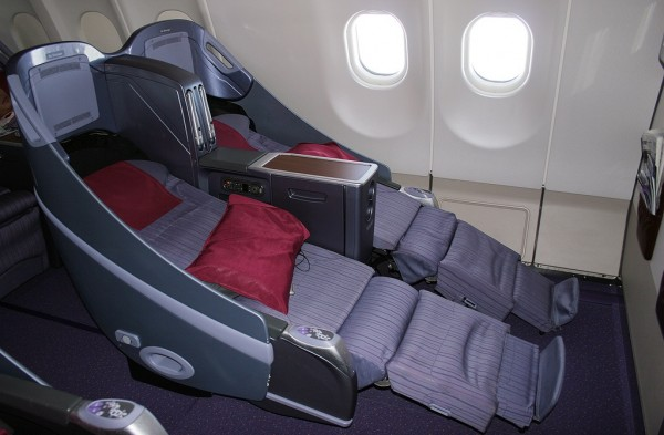 how to choose seat on thai airways