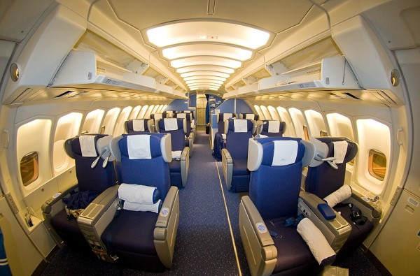 Seat Map Klm Boeing B747 400 Combi New World Business