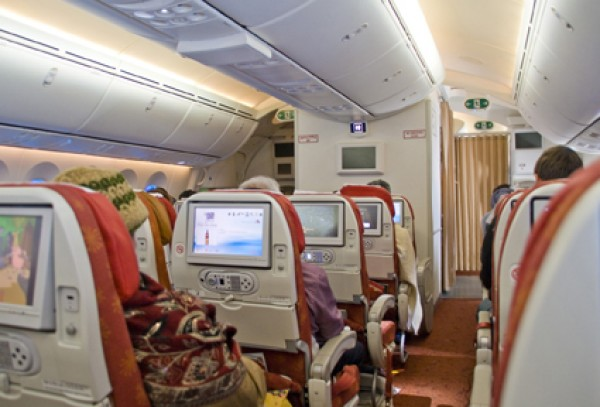 Air India Boeing B787 Dreamliner seat review by Russell Ryan #27321