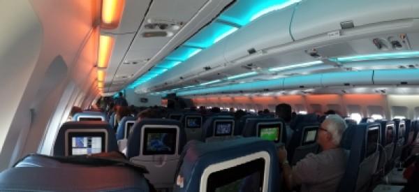 Air transat seat maps for Air canada pet in cabin