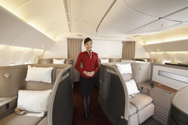 Seat Map Cathay Pacific Airways Boeing B777 300 (77H ...