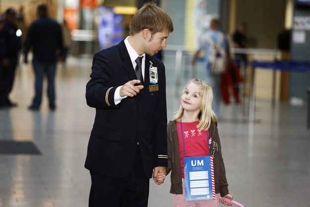 Airport Procedures Applied To Unaccompanied Minors