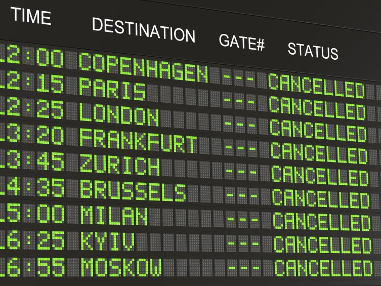 HOW TO DEAL WITH FLIGHTS THAT ARE DELAYED, CANCELLED OR OVERBOOKED