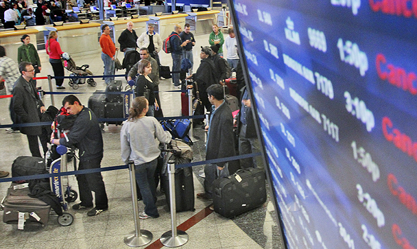 delayed, cancelled or oversold flights in the us