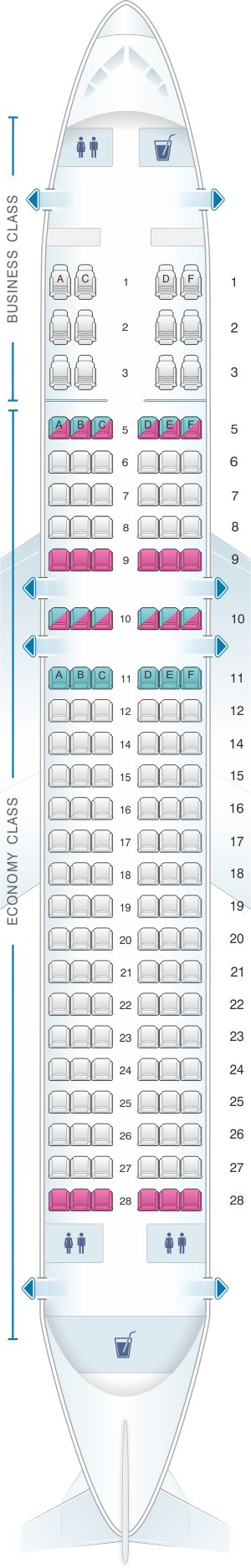 allegiant flight map with Silkair Airbus A320 200 on Seat Map Mcdonnell Douglas Md 88 Delta Airlines Best Seats In Plane furthermore Air France Charge Obese Passengers Fat Tax April 1st in addition British Airways EasyJet Ryanair Ranked Airline Legroom League moreover Vintage Airline Seat Map American Airlines Boeing 707 323 besides Terminal Map.