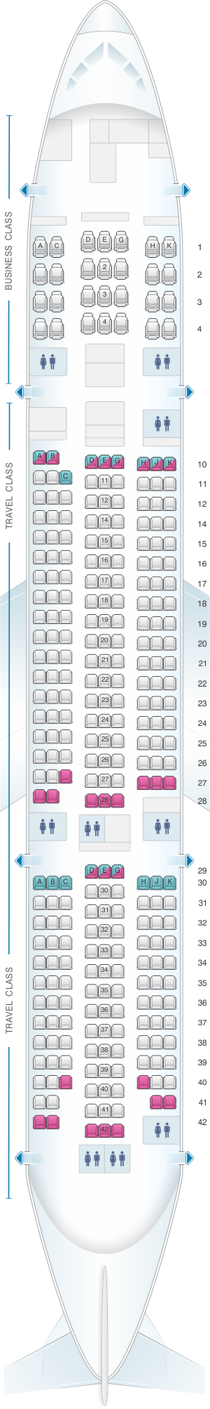 The Gallery For Gt Asiana Airlines A380 Seat Map