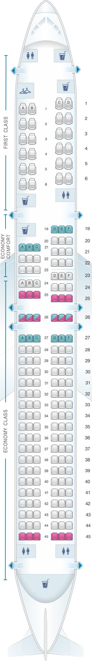 Delta flight seat assignment
