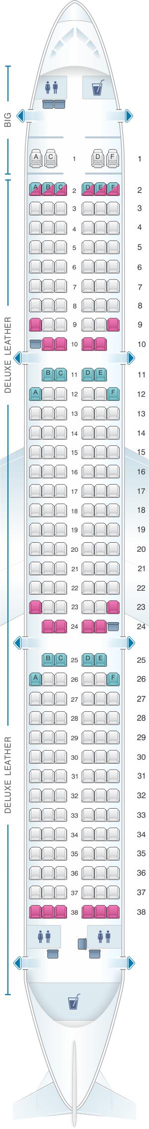 seat map spirit airlines airbus  seatmaestro