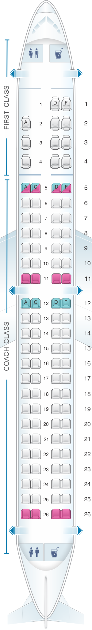 Phenomenal Seat Map Us Airways Embraer 175 Seatmaestro Cjindustries Chair Design For Home Cjindustriesco