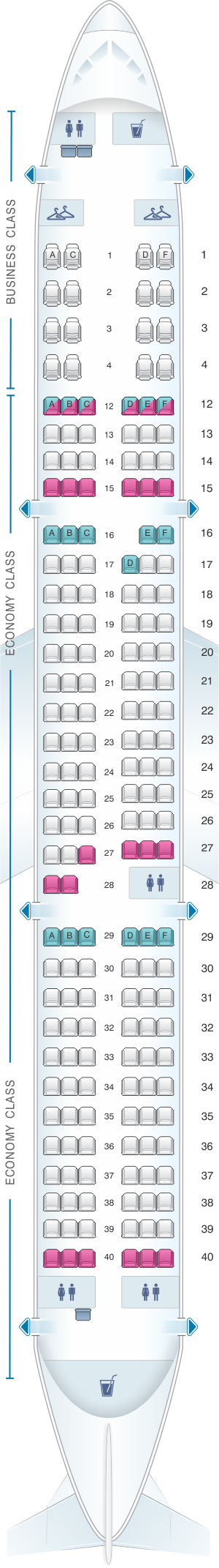 Air Transat A321 Seat Map Wallseat Co