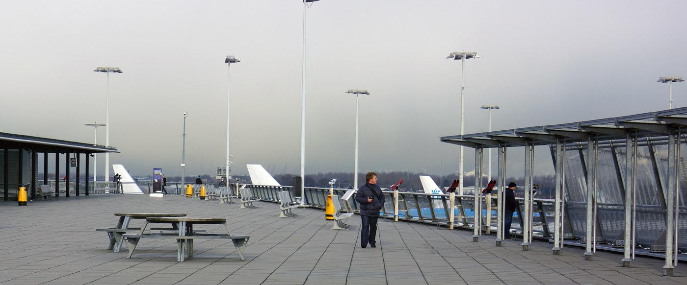 Panorama Terrace at Amsterdam Airport Schiphol