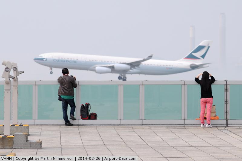 The Sky Deck at Hong Kong International Airport