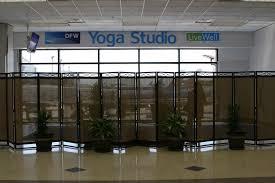 Dallas-Fort Worth International Airport Yoga Studio