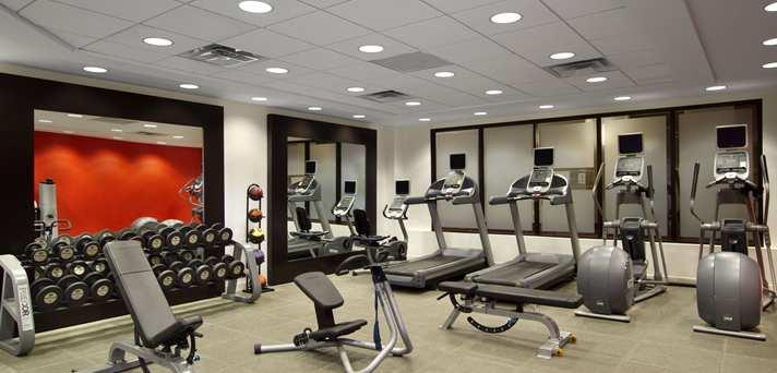 Detroit Metropolitan Wayne County Airport Fitness Studio