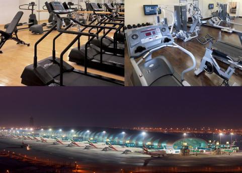 Dubai International Airport G-Force Health Club