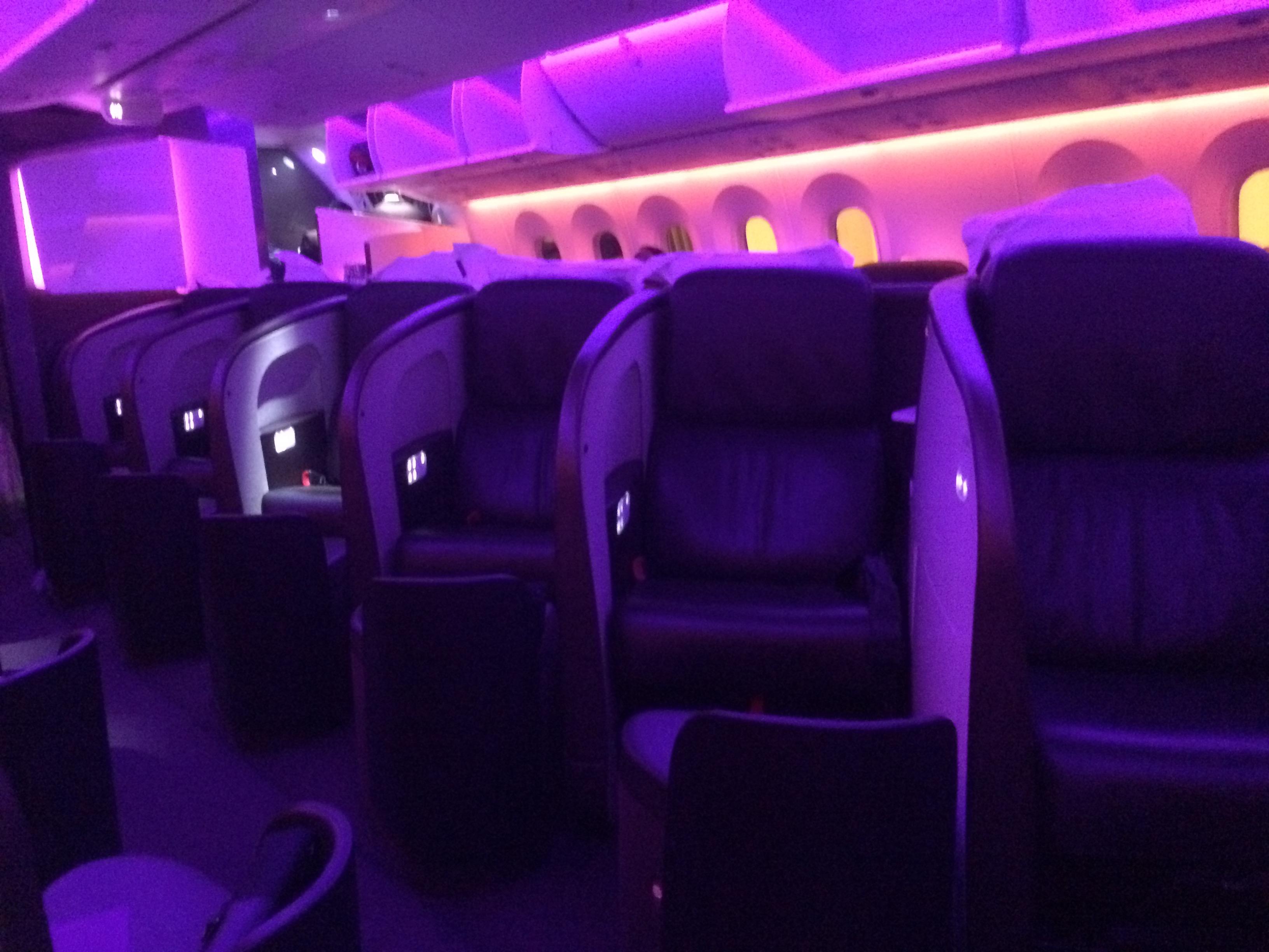 Virgin Atlantic Seat Maps Seatmaestro