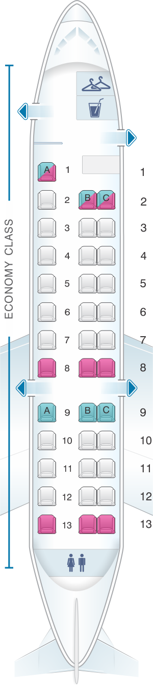 lufthansa seat map with Embraer Erj 135 on Embraer Erj 135 likewise Air France Airbus A318 A as well Airbus A340 500600 Fleet Profile Lufthansa Iberia Retain Large Fleets Asian Airlines Retire Them 235948 besides Lufthansa LH9917 Hamburg XFW Frankfurt am Main FRA in addition Where To Sit And Not To Sit On The Lufthansa 747 8i.