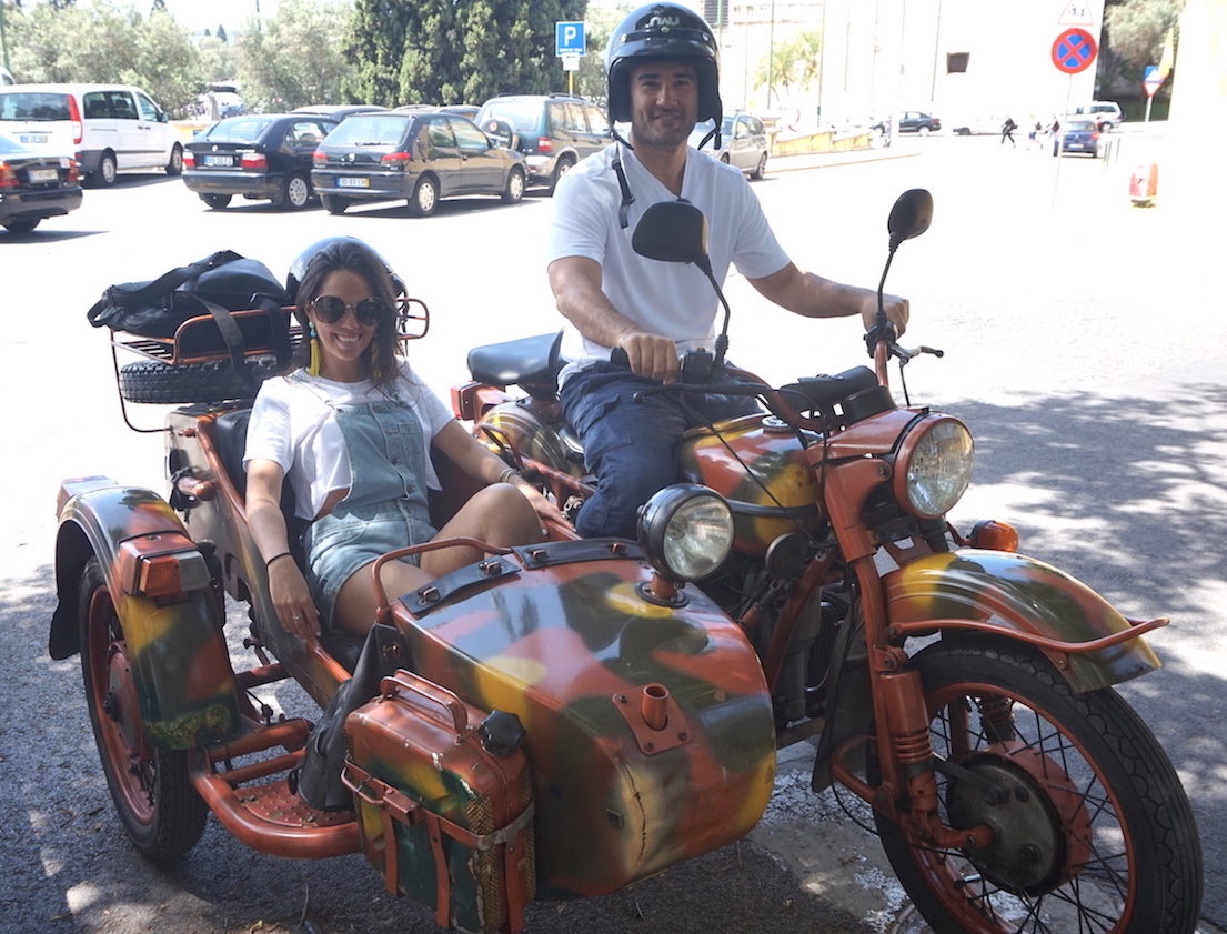 Sidecar Touring Co. - A Must Do in Lisbon... in a Sidecar | SeatMaestro
