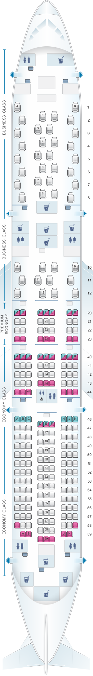 Qantas Airlines Boeing 737 800 Aircraft Seating Chart Qantas Airlines Australian Airlines Aircraft