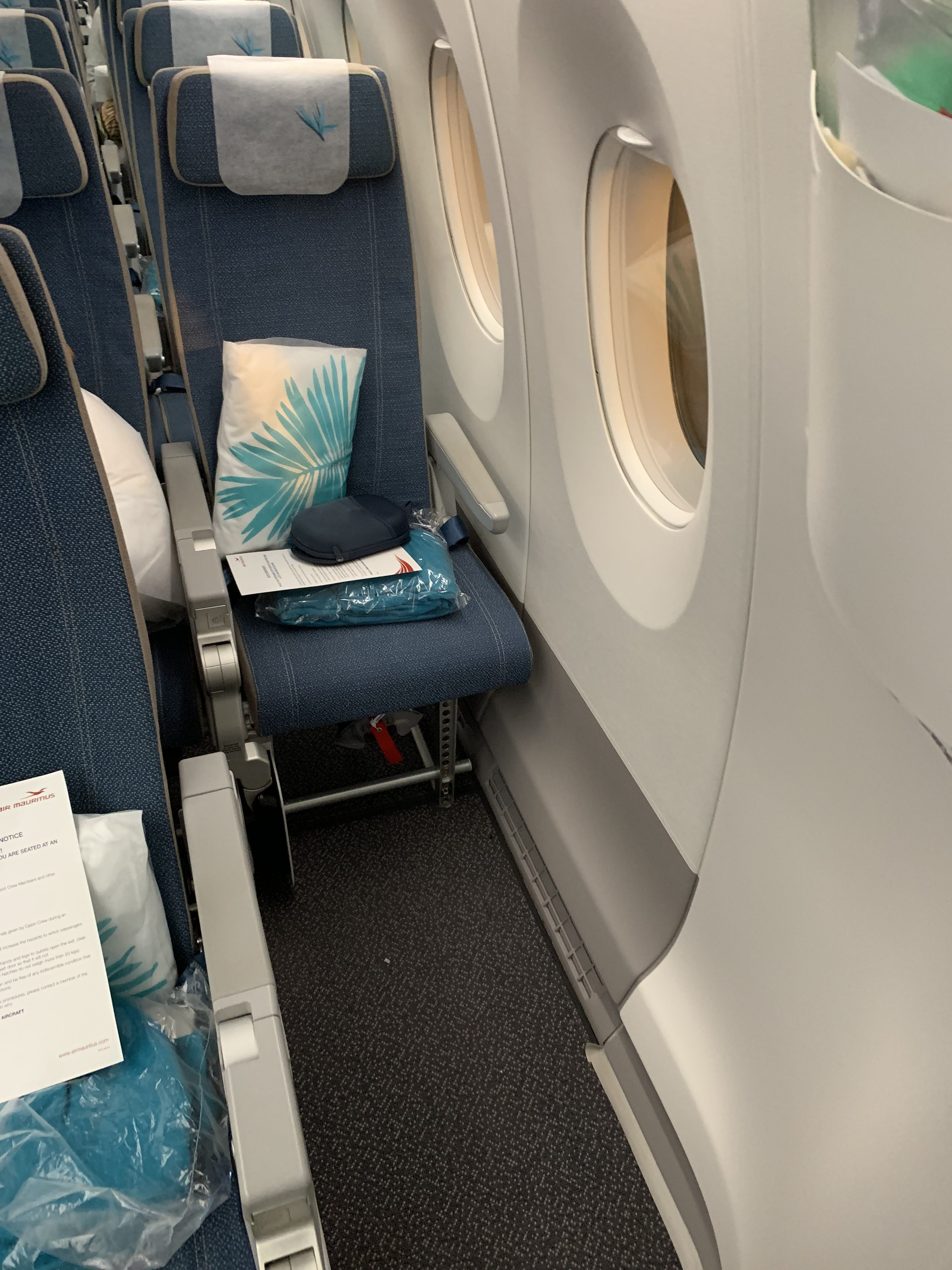 Seat Map Air Mauritius Airbus A350 900 Seatmaestro